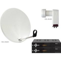AllVision SAH 2000/60 HD Sistema SAT con ricevitore Numero utenti: 2 60 cm