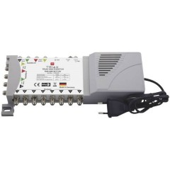 Triax TMS 908 SE P-EU SAT multiswitch Ingressi (Multiswitch): 9 (8 satellitare / 1 terrestre) Numero utenti: 8