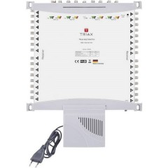 Triax TMS 1732 SE P-EU SAT multiswitch Ingressi (Multiswitch): 17 (16 satellitare / 1 terrestre) Numero utenti: 32
