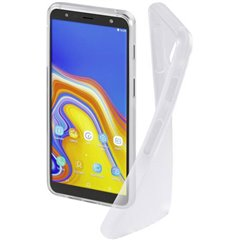 Hama Cover Crystal Clear Backcover per cellulare Samsung Galaxy J6 Plus Trasparente
