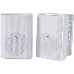 Electro Voice EVID-S5.2XW Altoparlante da parete PA Bianco 1 Paio/a