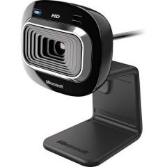 Webcam HD 1280 x 720 Pixel LifeCam HD-3000 Con piedistallo, Morsetto di supporto