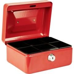 Cassetta portavalori (L x A x P) 150 x 80 x 120 mm Rosso