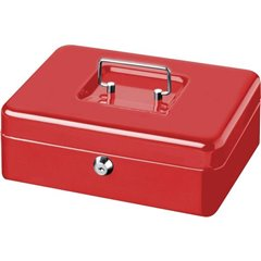 Cassetta portavalori (L x A x P) 250 x 90 x 180 mm Rosso
