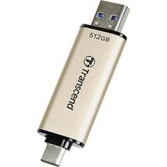 JetFlash 930C Chiavetta USB 512 GB Oro USB 3.2 (Gen 1x1), USB-C™