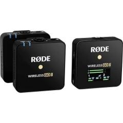 Wireless GO II a clip Lavalier Microfono vocale Tipo di trasmissione:USB incl. borsello, incl.