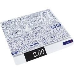 Bilancia da cucina digitale Portata max. 30000 g Risoluzione 1 g a batteria Multicolore
