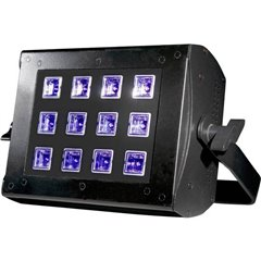 UV FLOOD 36 Illuminatore a luce diffusa UV LED (monocolore) 36 W Nero