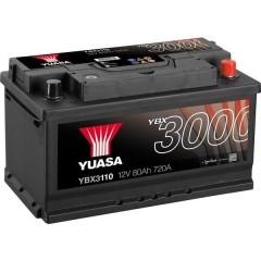 Batteria per auto SMF 12 V 80 Ah T1 Applicazione Celle 0