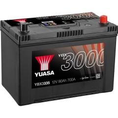 Batteria per auto SMF 90 Ah T1 Applicazione Celle 0