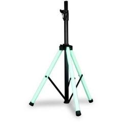 Color Stand LED Treppiede per altoparlante PA Regolabile in altezza , Con telecomando 1 pz.