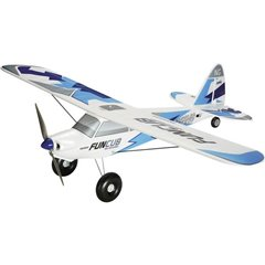 BK FunCub NG blau Bianco, Blu Aeromodello a motore In kit da costruire 1410 mm