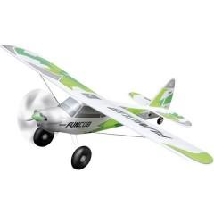 BK FunCub NG grün Bianco, Verde Aeromodello a motore In kit da costruire 1410 mm