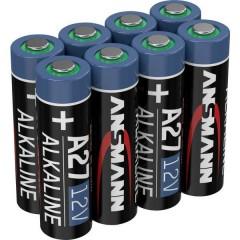 A27 Batteria speciale 27 A Alcalina/manganese 12 V 8 pz.