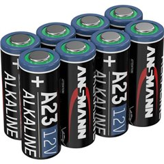 A23 Batteria speciale 23 A Alcalina/manganese 12 V 8 pz.