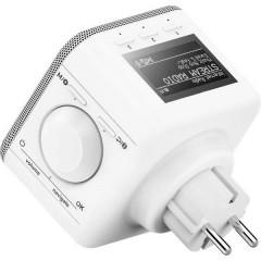 DIR45BT Radio Internet con prese di corrente Internet, DAB+, DAB, FM AUX, Bluetooth, DAB+, Internetradio, USB, WLAN