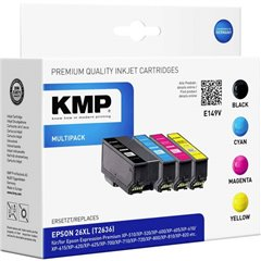 Cartucce combo pack Compatibile sostituisce Epson Epson 26XL Imballo multiplo Nero, Ciano, Magenta, Giallo E149V