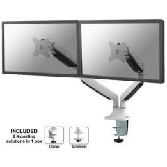 2 vie Supporto da tavolo per monitor 25,4 cm (10) - 76,2 cm (30) Inclinabile, Girevole