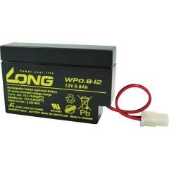 Long Batteria al piombo 12 V 0.8 Ah Piombo-AGM (L x A x P) 96 x 62 x 25 mm Presa AMP Bassa