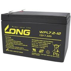 Long Batteria al piombo 12 V 7.2 Ah Piombo-AGM (L x A x P) 151 x 102 x 65 mm Spina piatta 6,35 mm