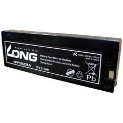 Long Batteria al piombo 12 V Piombo-AGM (L x A x P) 182 x 61 x 23 mm Terminali a morsetto Bassa
