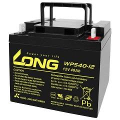 Long Batteria al piombo 12 V 40 Ah Piombo-AGM (L x A x P) 199 x 171 x 166 mm Vite M6 certificazione