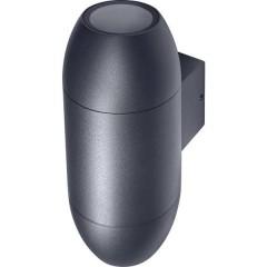 LEDVANCE Endurac Classic Cannon Updown Lampada da parete per esterno E27 Grigio scuro