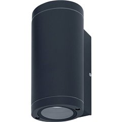LEDVANCE Endurac Classic Beam Updown Lampada da parete per esterno E27 Grigio scuro