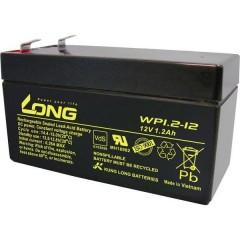 Long Batteria al piombo 12 V 1.2 Ah Piombo-AGM (L x A x P) 97 x 59 x 43 mm Spina piatta 4,8 mm