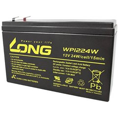 Long Batteria al piombo 12 V 6 Ah Piombo-AGM (L x A x P) 151 x 101 x 51 mm Spina piatta 6,35 mm Bassa