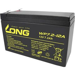 Long Batteria al piombo 12 V 7.2 Ah Piombo-AGM (L x A x P) 151 x 102 x 65 mm Spina piatta 4,8