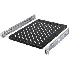 Rittal 19 pollici Ripiano porta apparecchi per armadio rack 1.5 HE guide di montaggio variabili Adatto per
