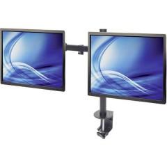 Manhattan 2 vie Supporto da tavolo per monitor 33,0 cm (13) - 81,3 cm (32) Regolabile in altezza, Inclinabile,