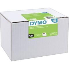 DYMO Rotolo di etichette 101 x 54 mm Carta Bianco 2640 pz. Permanente Etichetta per spedizioni, Etichetta per