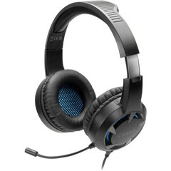 SpeedLink CASAD Cuffia Headset per Gaming Jack 3,5 mm Filo Cuffia Over Ear Nero