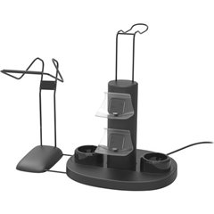 SpeedLink VREADY 4-In-1 Charging Station Caricatore controller PS4, PS4 Slim, PS4 Pro