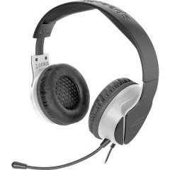 SpeedLink HADOW Cuffia Headset per Gaming Jack 3,5 mm Filo Cuffia Over Ear Nero/Bianco
