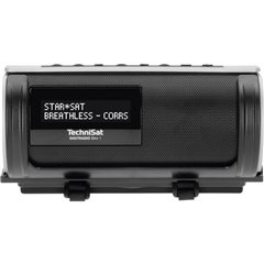 TechniSat DIGITRADIO Bike 1 Radio tascabile DAB+, DAB, FM DAB+, FM, Bluetooth impermeabile, antispruzzo , ricaricabile