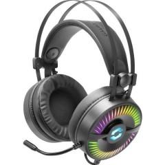SpeedLink QUYRE RGB 7.1 Cuffia Headset per Gaming USB Filo Cuffia Over Ear Nero