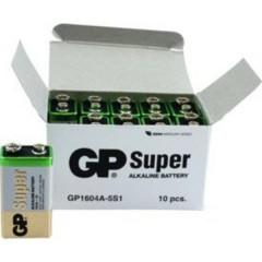 GP Batteries GP1604A / 6LR61 Batteria da 9 V Alcalina/manganese 9 V 10 pz.