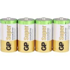 GP Batteries GP14A / LR14 Batteria 1/2 Torcia (C) Alcalina/manganese 1.5 V 4 pz.