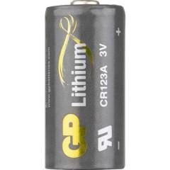 GP Batteries GPCR123A Batteria per fotocamera CR-123A Litio 1400 mAh 3 V 1 pz.