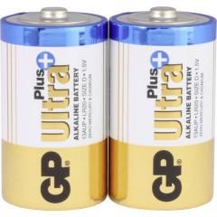 GP Batteries GP13AUP / LR20 Batteria Torcia (D) Alcalina/manganese 1.5 V 2 pz.