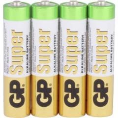 GP Batteries GP24A 4/ LR03 Batteria Ministilo (AAA) Alcalina/manganese 1.5 V 4 pz.