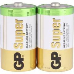 GP Batteries Super GP13A / LR20 Batteria Torcia (D) Alcalina/manganese 1.5 V 2 pz.