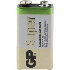 GP Batteries GP1604A / 6LR61 Batteria da 9 V Alcalina/manganese 9 V 1 pz.