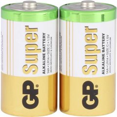 GP Batteries GP14A / LR14 Batteria 1/2 Torcia (C) Alcalina/manganese 1.5 V 2 pz.