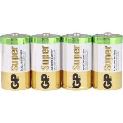 GP Batteries Super GP13A / LR20 Batteria Torcia (D) Alcalina/manganese 1.5 V 4 pz.