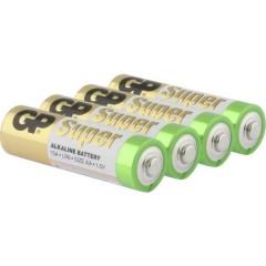GP Batteries GP15A / LR06 Batteria Stilo (AA) Alcalina/manganese 1.5 V 4 pz.