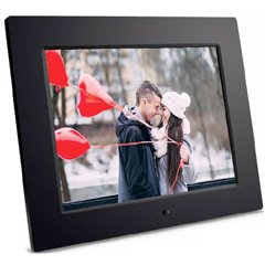 Braun Germany DigiFrame 1083 Cornice digitale 24.6 cm 9.7 pollici 1024 x 768 Pixel Nero